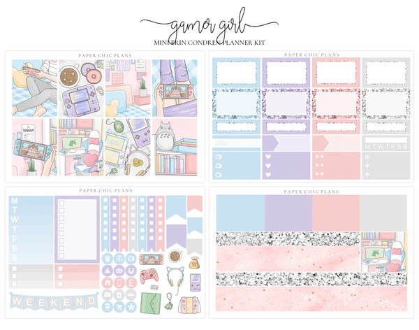 Gamer Girl // Mini Kit - Paper Chic Plans