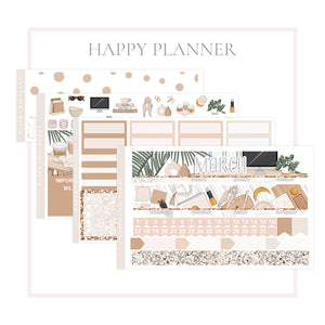 March // Happy Planner Classic Monthly Planner Kit