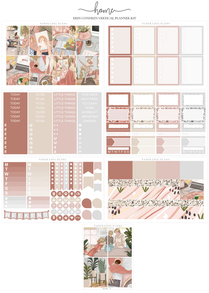 Home // Full Kit - Paper Chic Plans