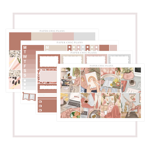 Home // Mini Kit - Paper Chic Plans