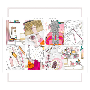 Home Office // Full Kit - Paper Chic Plans
