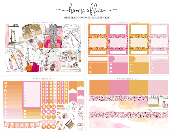 Home Office // Mini Kit - Paper Chic Plans