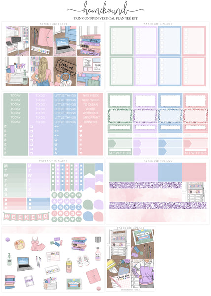 Homebound // Full Kit - Paper Chic Plans