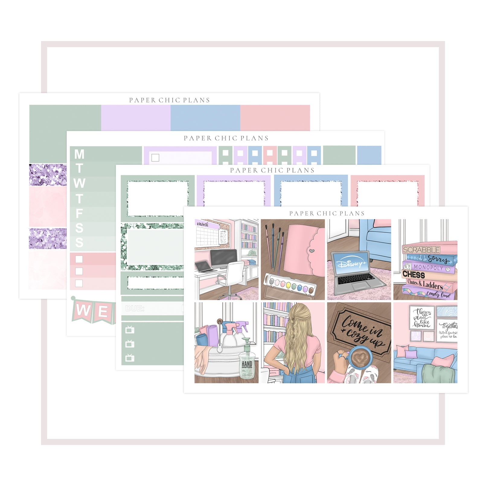Homebound // Mini Kit - Paper Chic Plans