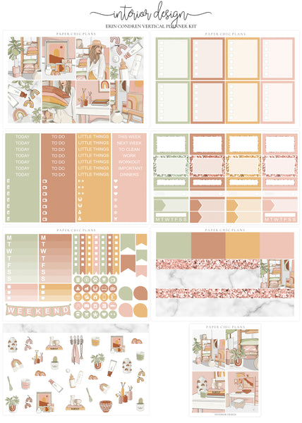 Interior Design // Full Kit - Paper Chic Plans