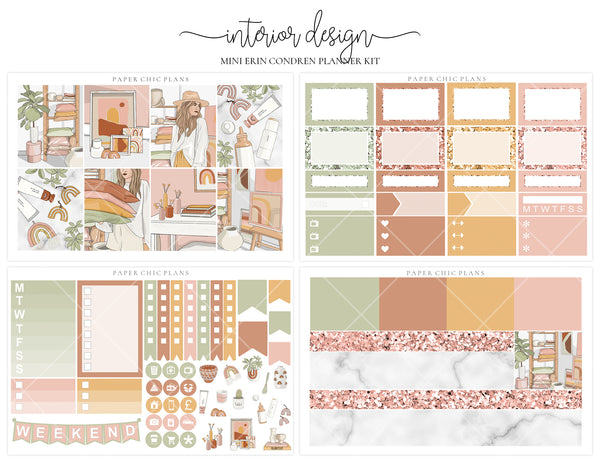 Interior Design // Mini Kit - Paper Chic Plans
