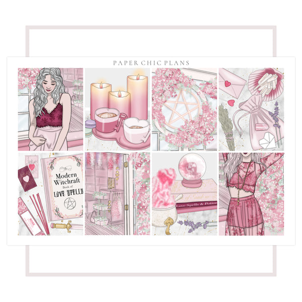 Love Witch // Full Kit - Paper Chic Plans