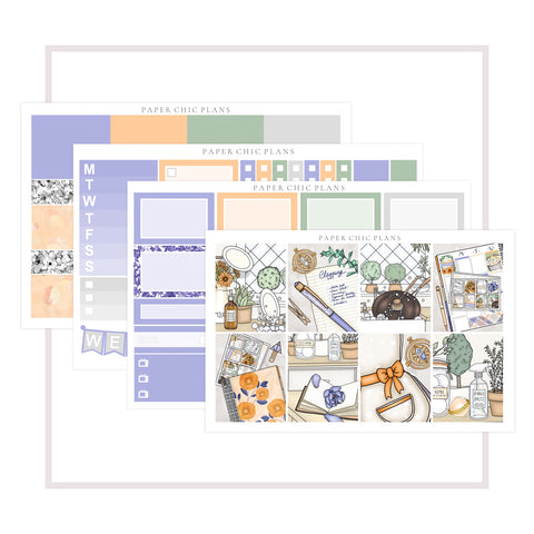 Magical Cleaning // Mini Kit - Paper Chic Plans