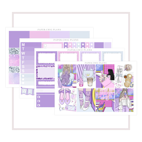 Milky Way Cafe // Mini Kit - Paper Chic Plans