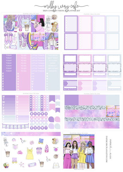 Milky Way Cafe // Full Kit - Paper Chic Plans