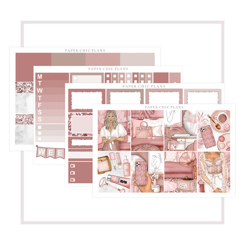 Blush // Mini Kit - Paper Chic Plans