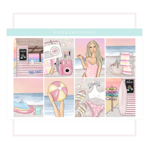 Pastel Summer // Full Kit - Paper Chic Plans