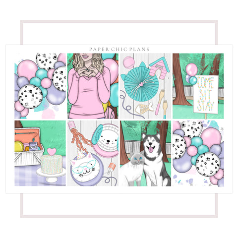 Paw Party // Full Kit - Paper Chic Plans
