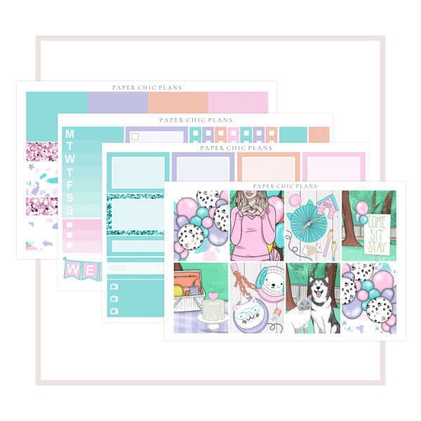 Paw Party // Mini Kit - Paper Chic Plans