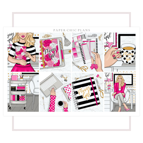 Planner Girl // Full Kit - Paper Chic Plans