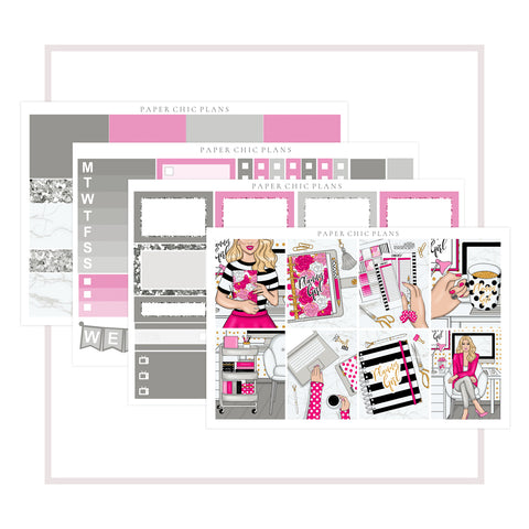 Planner Girl // Mini Kit - Paper Chic Plans