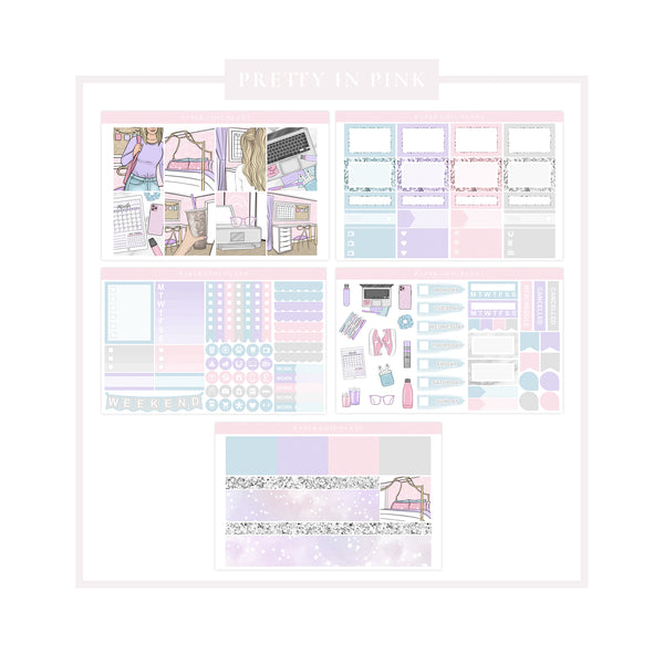Pretty In Pink // Mini Kit - Paper Chic Plans