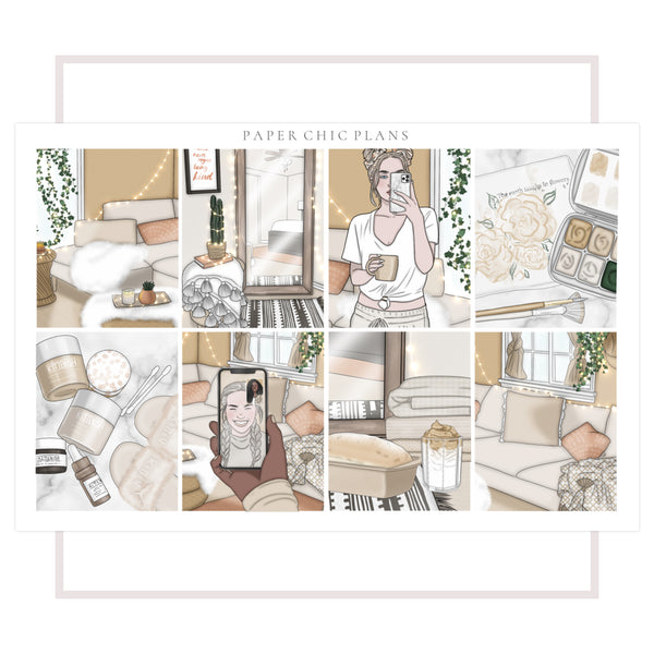 Relax // Full Kit - Paper Chic Plans