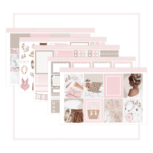 Rosé All Day // Mini Kit - Paper Chic Plans