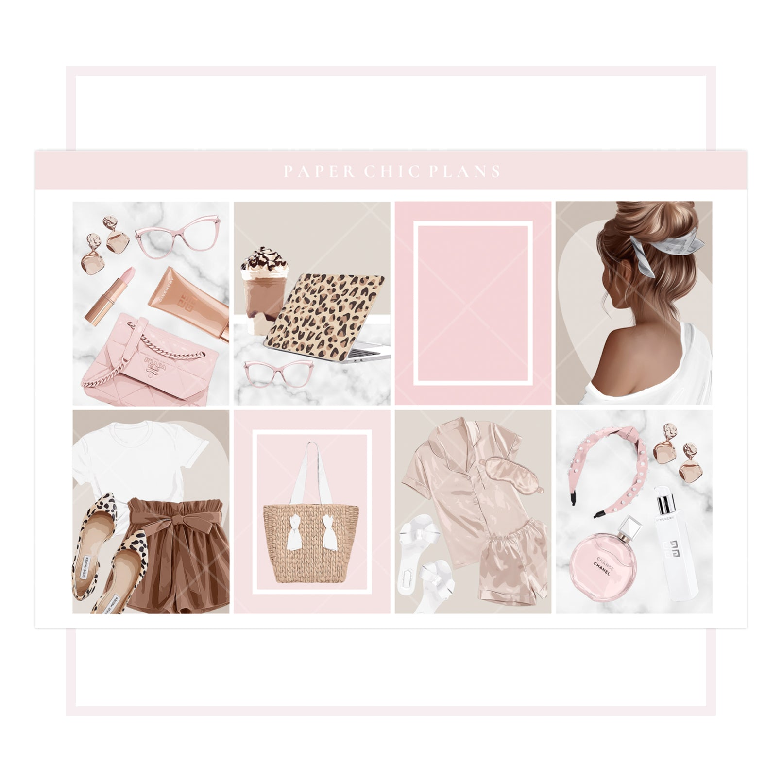 Rosé All Day // Full Kit - Paper Chic Plans