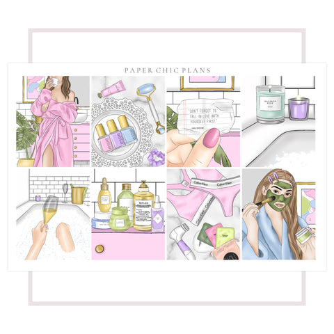 Self Care // Full Kit - Paper Chic Plans