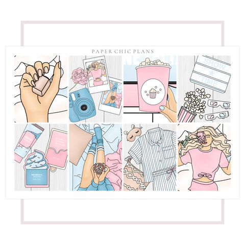 Slumber Party // Full Kit - Paper Chic Plans