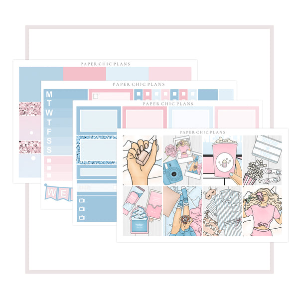 Slumber Party // Mini Kit - Paper Chic Plans