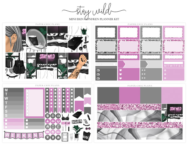 Stay Wild // Mini Kit - Paper Chic Plans