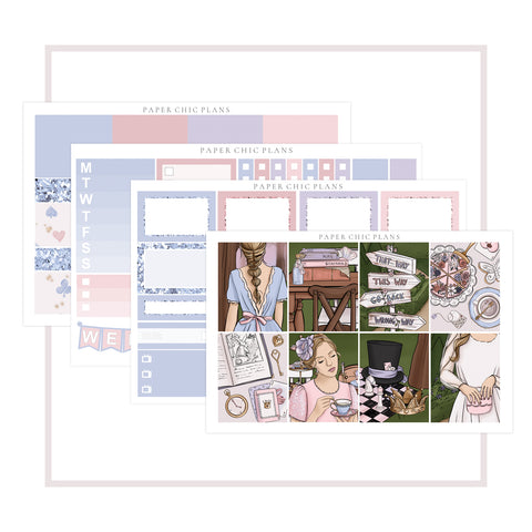 Tea Party // Mini Kit - Paper Chic Plans