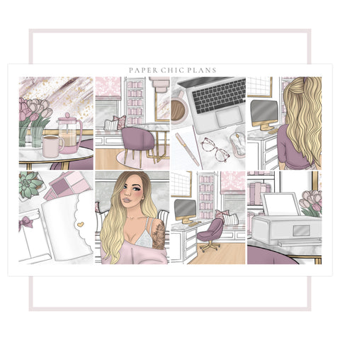 Work From Home // Full Kit - Paper Chic Plans