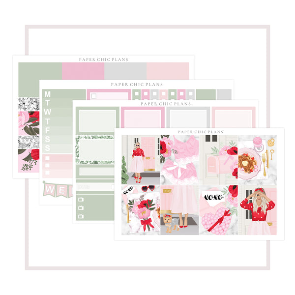 XOXO // Mini Kit - Paper Chic Plans
