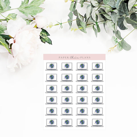 INTERNET BILL // Planner Icons - Paper Chic Plans