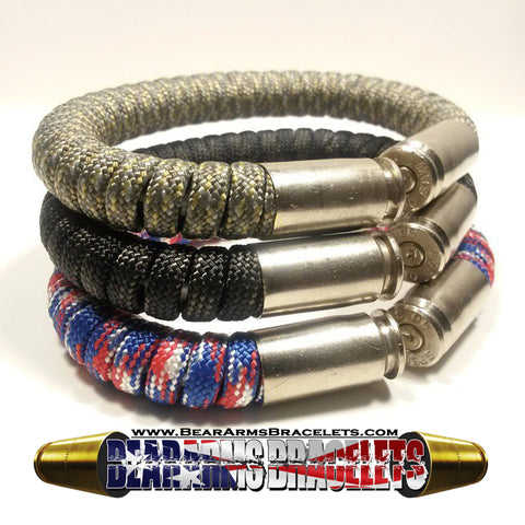 ACU Digital - Touch of Grey and Patriot Paracord BearArms Bullet Bracelets