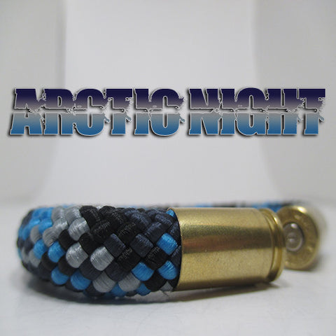 arctic night beararms bullet casings bracelet jewelry