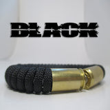 black paracord beararms bullet casings jewelry bracelets