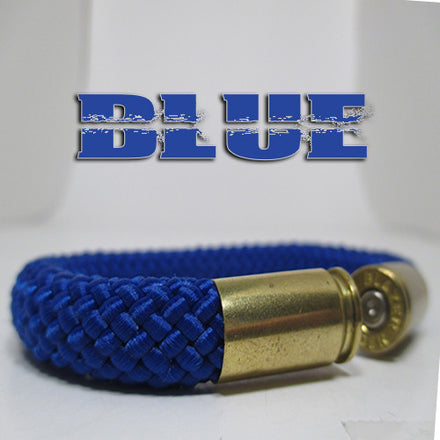 blue beararms bullet casings jewelry bracelets
