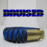 bruiser paracord beararms bullet casings jewelry bracelets