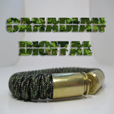 canadian digital paracord beararms bullet casings jewelry bracelets