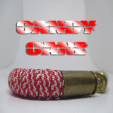 candy cane paracord beararms bullet casings jewelry bracelets