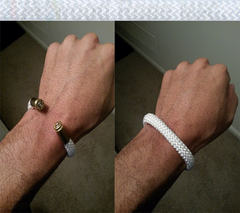 white beararms bracelet jewelry