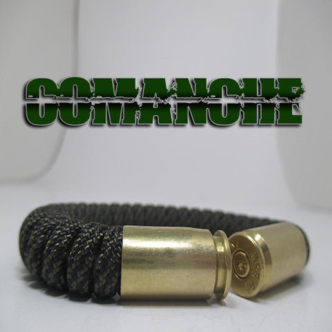 comanche paracord beararms bullet casings jewelry bracelets