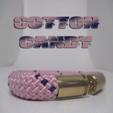 cotton candy beararms bullet casings jewelry bracelets