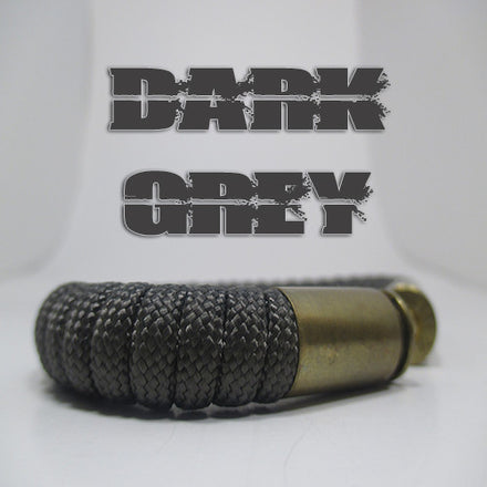 dark grey paracord beararms bullet casing bracelet jewelry