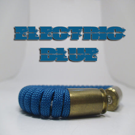 electric blue beararms bullet casings jewelry bracelets