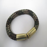 forest camo beararms bullet casings bracelet jewelry