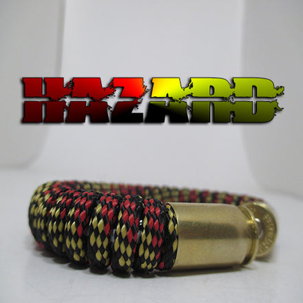 hazard paracord beararms bullet casings jewelry bracelets