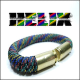 helix paracord beararms bullet casings bracelet jewelry