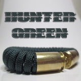 hunter green paracord beararms bullet casing bracelet jewelry