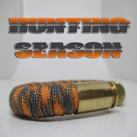 hunting season paracord beararms bullet casings jewelry bracelets