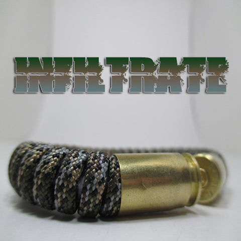 infiltrate paracord beararms bullet casings jewelry bracelets